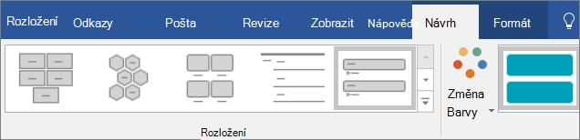 Klikněte na tlačítko Změnit barvy