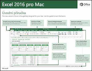 Excel 2016 pro Mac – úvodní příručka