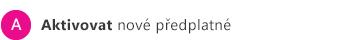 A) Uplatnění kódu Product Key k aktivaci nového předplatného