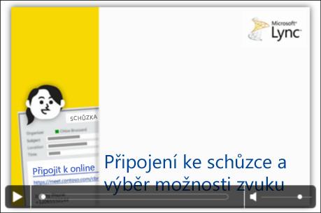 Obrázek powerpointového snímku s ovládáním videa