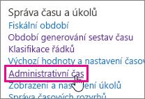 Administrativní čas