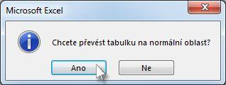 Confirmation dialog box