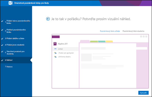 Snímek obrazovky s náhledem Office 365