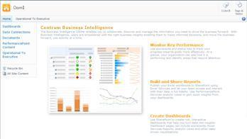 Centrum Business Intelligence obsahující užitečné informace a odkazy, které vám usnadní zahájení práce