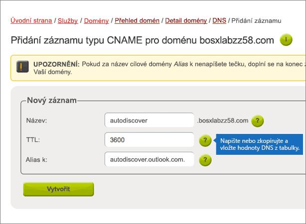 Active24 – doporučených postupů – konfigurace 3-2