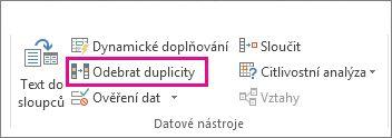 Odebrat duplicity