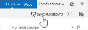 Synchronizace OneDrivu pro firmy na SharePointu 2013