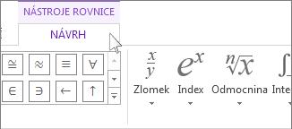 Nástroje rovnice