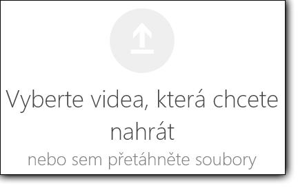 Výběr videí, která chcete nahrát v Office 365 Videu