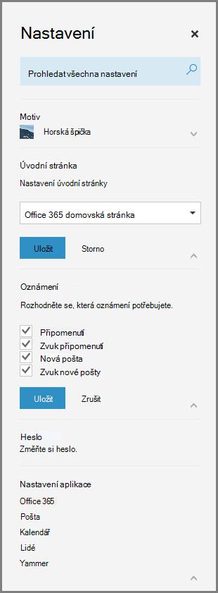 Oznámení v Office 365