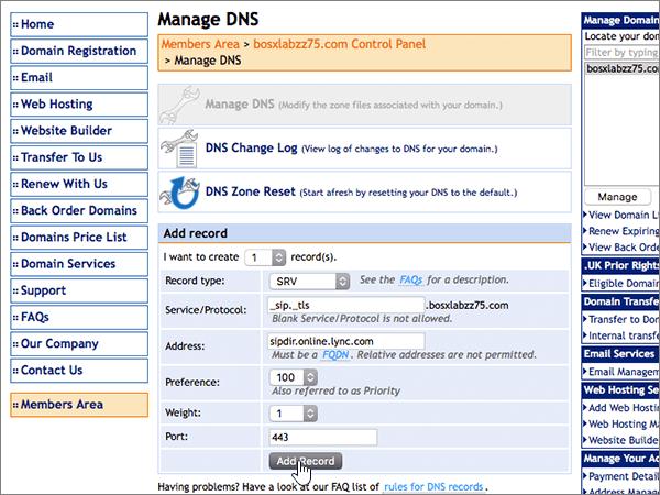 DomainMonster – doporučených postupů – konfigurace 5-2
