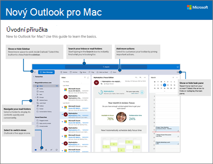 Outlook 2016 pro Mac – úvodní příručka