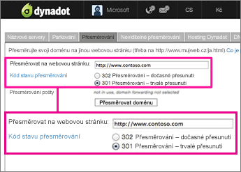 Dynadot-Redirect-1