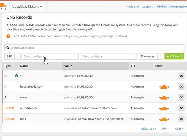 Cloudflare – doporučených postupů – konfigurace 5-2