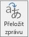 Translator pro tlačítko aplikace Outlook