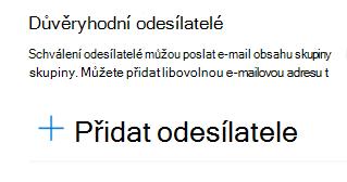 E-mailovou adresu můžete přidat do seznamu důvěryhodných odesílatelů.