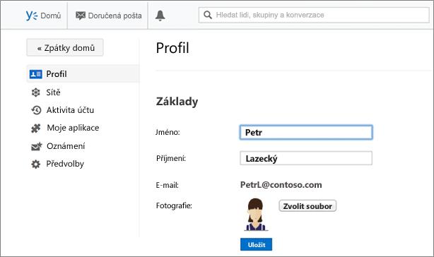 Základní informace o profilu
