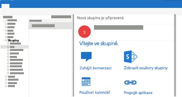 Zobrazení a čtení nebo odpověď na skupinové konverzace v Outlooku pro Mac