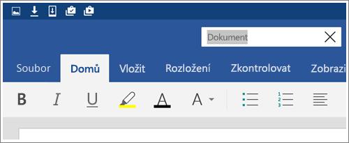 Snímek obrazovky znázorňující přejmenování souboru v Androidu