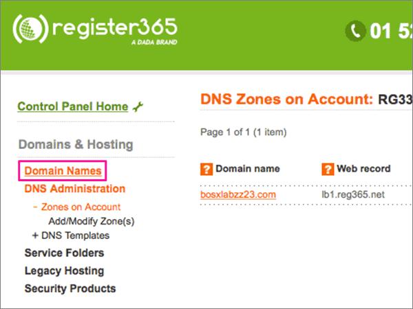 Register365 časově doporučených postupů časově přesměrování-1-1