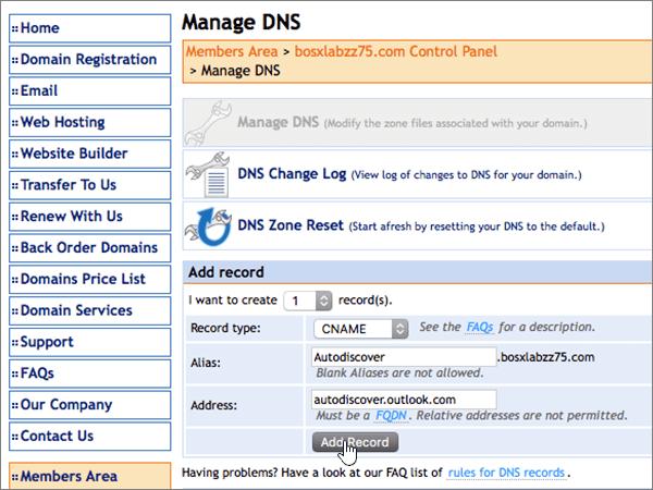 DomainMonster – doporučených postupů – konfigurace 3-2