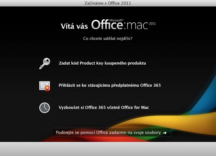 Přihlaste se k stávajícímu předplatnému Office365