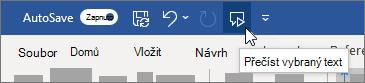 Vybrat ikonu přečíst