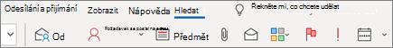 Použití vyhledávání v Outlooku