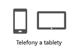 Telefony a tablety: