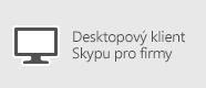 Skype pro firmy – osobní počítač s Windows