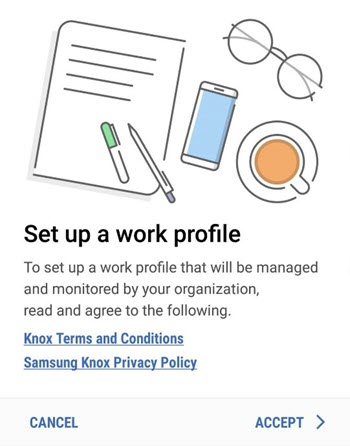 Nastavit pracovní profil