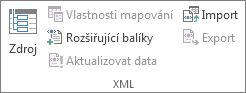 Aktualizovat data XML