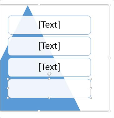 Přidání dalšího textového pole