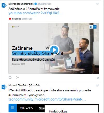 Informační kanál Twitter