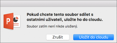 PPT for Mac Save to Cloud