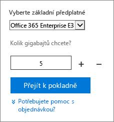 Změňte počet uživatelských licencí doplněk.