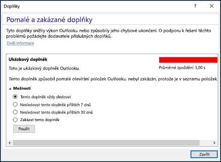 Zakázání ins_C3_2017912141729 aplikace Outlook
