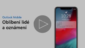 Miniatura pro video Oblíbení lidé a oznámení – přehrajte kliknutím