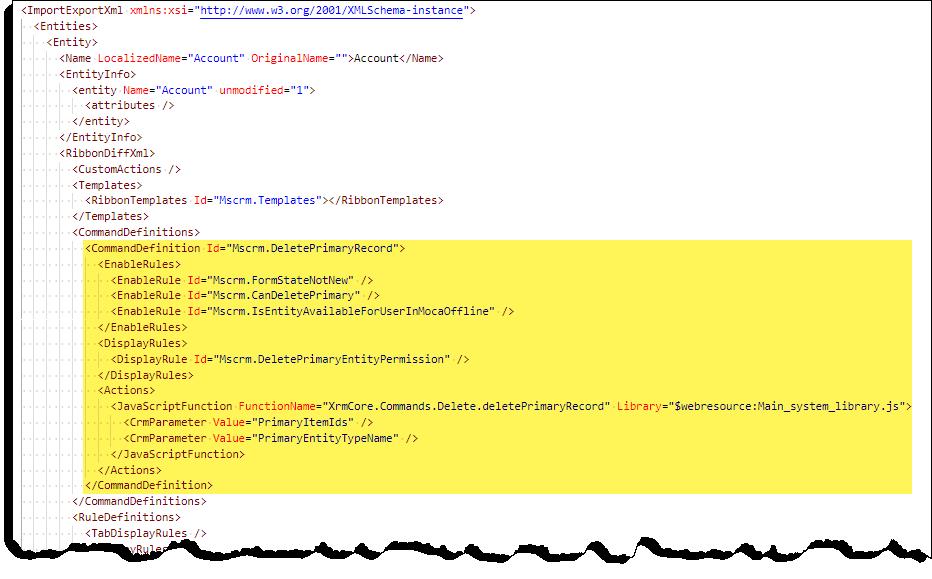 Command Checker - Button Error - Command - XML