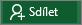 Tlačítko Sdílet na pásu karet Excelu 2016