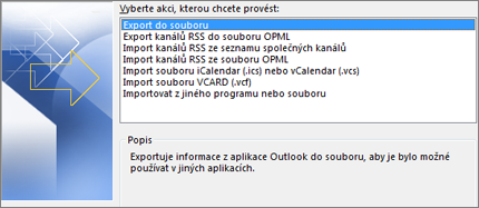Export do souboru
