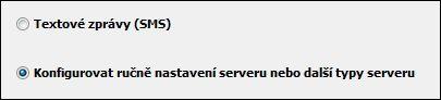Outlook 2010 – Konfigurovat nastavení serveru ručně