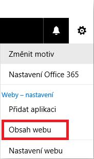 Snímek obrazovky s obsahem webu pro upgrade aplikace Poznámkové bloky předmětů.