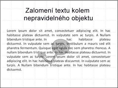 Snímek s obrázkem a překrývajícím textem