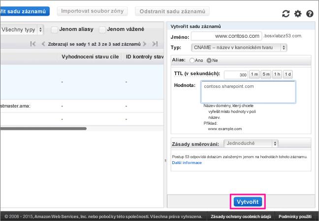 AWS-doporučených postupů – konfigurace 3-4