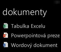 Zobrazení desktopových dokumentů ve Windows Phone při vzdáleném spuštění Office