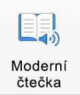 Moderní čtečka