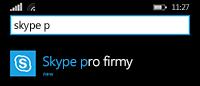 Najděte seznam aplikací a začněte klepnutím na ikonu.