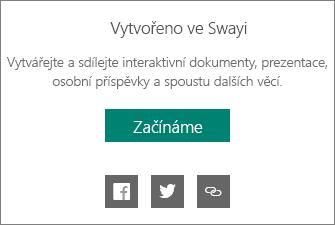 Branding Vytvořeno ve Swayi