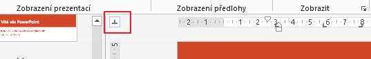 Můžete přepínat mezi různými směry zarovnání zarážek tabulátoru.